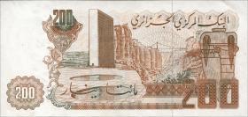 Algerien / Algeria P.135 200 Dinars (1983) (1)