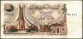 Algerien / Algeria P.135 200 Dinars (1983) (3)