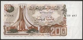 Algerien / Algeria P.135 200 Dinars (1983) (2+)