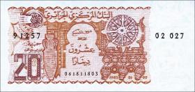 Algerien / Algeria P.133 20 Dinars 1983 (1)