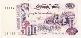 Algerien / Algeria P.139 500 Dinars 1992 (1)