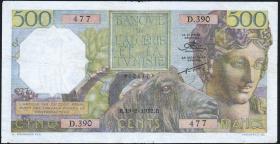 Algerien / Algeria P.106 500 Francs 1952 (4)