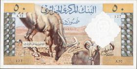 Algerien / Algeria P.124 50 Dinars 1964 (1)