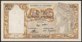 Algerien / Algeria P.119a 10 Neue Francs 1960 (1/1-)