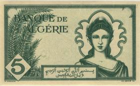 Algerien / Algeria P.091 5 Francs 1942 (2)