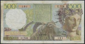 Algerien / Algeria P.106 500 Francs 1954 (4)