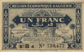 Algerien / Algeria P.098a 1 Franc L.1944 (2)