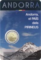 Andorra 2 Euro 2017 Land der Pyrenäen im Blister