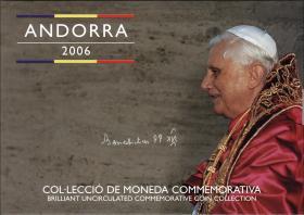Andorra KMS 2006 Papst Benedikt XVI.