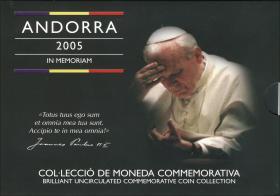 Andorra KMS 2005 Papst Johannes Paul II.