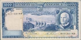 Angola P.098 1000 Escudos 1970 (3+)