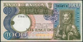 Angola P.108 1000 Escudos 1973 (2)