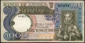 Angola P.108 1000 Escudos 1973 (3)