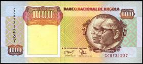 Angola P.129b 1000 Kwanzas 1991 (1)