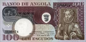 Angola P.106 100 Escudos 1973 (1)