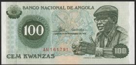Angola P.111 100 Kwanzas 1976 (1)