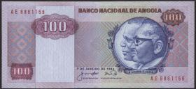 Angola P.119 100 Kwanzas 1984 (1)