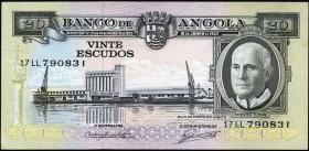 Angola P.092 20 Escudos 1962 (1)