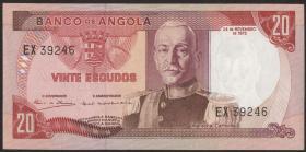 Angola P.099 20 Escudos 1972 (1)