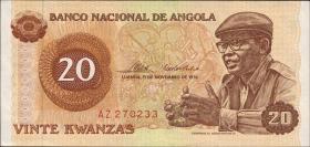 Angola P.109 20 Kwanzas 1976 (1)