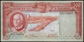 Angola P.097 500 Escudos 1970 (3/2)