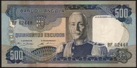 Angola P.102 500 Escudos 1972 (2)