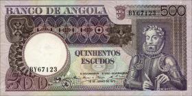 Angola P.107 500 Escudos 1973 (1)