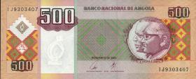 Angola P.149a 500 Kwanzas 2003 (1)