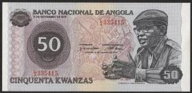 Angola P.110 50 Kwanzas 1976 (1)