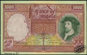 Angola P.082s 1000 Angolares 1944 Specimen (1/1-)