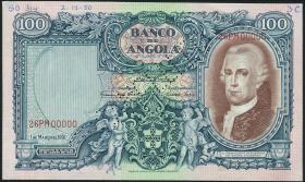 Angola P.085s 100 Angolares 1951 Specimen (2)