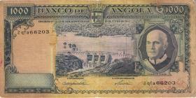 Angola P.096 1000 Escudos 1962 (3-)