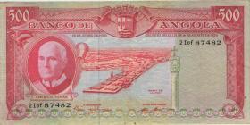 Angola P.097 500 Escudos 1970 (3)