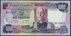 Angola P.103 1000 Escudos 1972 (3+)