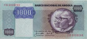 Angola P.121a 1.000 Kwanzas 1987 (1)