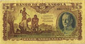 Angola P.077 5 Angolares 1947 (3-)