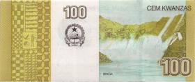 Angola P.153b 100 Kwanzas (2012) (2017) (1)