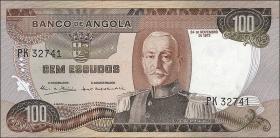 Angola P.101 100 Escudos 1972 (1)