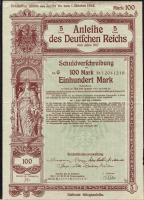 Anleihe des Deutschen Reiches 100 Mark 1917 (2)