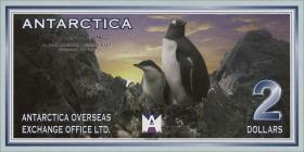 Antarctica 2 Dollars 1999 (1)