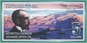 Antarctica 5 Dollars 2001 (1)