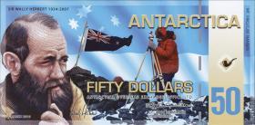 Antarctica 50 Dollars 2010 Polymer (1)