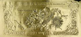 Antigua & Barbuda P.CS1-3 30 Dollars Goldbanknote (1)