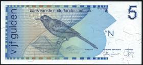 Niederl. Antillen / Netherlands Antilles P.22c 5 Gulden 1994