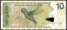 Niederl. Antillen / Netherlands Antilles P.28c 10 Gulden 2003