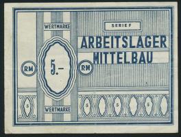 KZ Arbeitslager Mittelbau 5 RM (3)