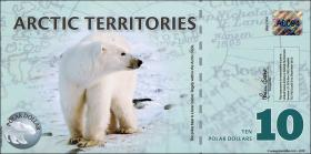Arctic Territories 10 Dollars 2010 Polymer (1)