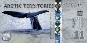 Arctic Territories 11 Dollars 2013 Polymer (1)