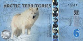 Arctic Territories 6 Dollars 2013 Polymer (1)