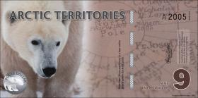 Arctic Territories 9 Dollars 2012 Polymer (1)